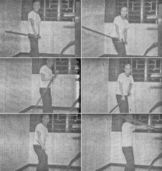 SWK - Ip Man - Performing Lok Dim Boon Kwan, from the 8mm film of Tang Sang