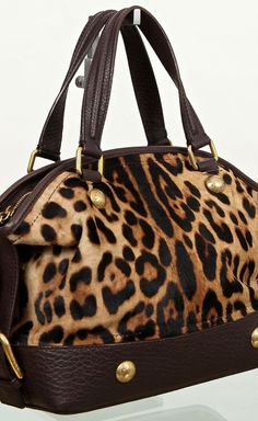 Dolce & Gabbana Leopard Pony Hair Bag