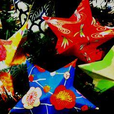 Washi paper stars