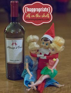 Inappropriate Elf on the Shelf Ideas (Adults ONLY!) #elfontheshelf #naughtyelf