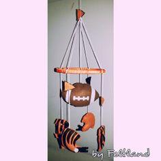 Bengals - Football crib mobile