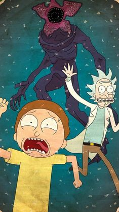 Rick and Morty Demogorgon HD Mobile, Smartphone and PC, Desktop, Laptop wallpaper resolutions. Rick And Morty Image, Rick Und Morty, Rick And Morty Quotes, Rick And Morty Poster, Rick And Morty Wallpaper, Iphone Whatsapp, Vintage Anime, Rick And Morty Crossover, Rick And Morty Drawing