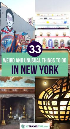 33 Weird and Unusual Things to Do in New York. If you're looking to get off the beaten path in one of the most cosmopolitan cities in the world, then you're in for a spectacular treat. Check out these 33 unusual activities in New York. Unusual Things to do in New York | Unusual Things to do in New York City | New York Unusual Things to do | Unusual Things to do in NYC | NYC Travel | NYC Travel Guide | #newyork #nyc #usa #travel New York Travel, Usa Travel, Unique Hotels, Unusual Things, Old Building, Free Things To Do, Amazing Destinations, Cosmopolitan