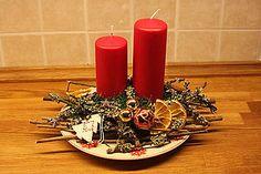 Svietidlá a sviečky - Vianočný svietnik - 4840940_