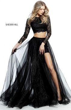 Vestidos de color negro para noche
