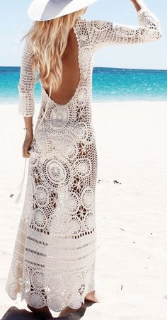Knit cover up