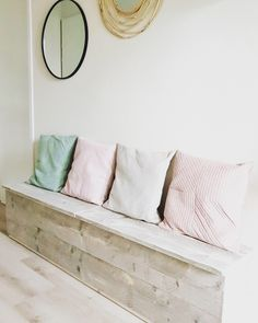 Room Ideas, Bench, Home And Garden, Studio, Storage, House, Furniture, Home Decor, Living Room