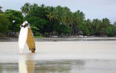 Tamarindo beach-where I learned to surf <3