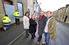 Work starts on-site to breathe life back into 200 empty homes in Accrington, Lancashire.