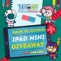 The sweet folk over at Yogome are giving us an iPad Mini to give to one of you! Whoop! Unruly Red Lisa.