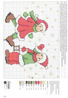 Xmas Cross Stitch, Cross Stitch Borders, Cross Stitch Charts, Cross Stitch Designs, Cross Stitching, Cross Stitch Embroidery, Christmas Embroidery Patterns, Christmas Tree Pattern, Christmas Sewing