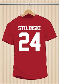 Camiseta Stilinski 24 #TeenWolf #TShirt #Tee #Art #Design con envío #gratis sólo en www.UppStudio.com
