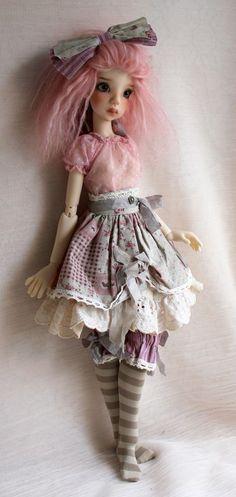 Лейси  - Beautiful doll by Kaye Wiggs