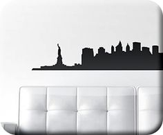 nyc wall decal.. bring home the big city
