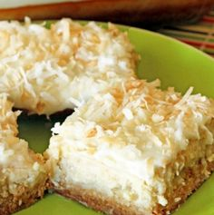 Recipes & Recipes: HAWAIIAN CHEESECAKE BARS