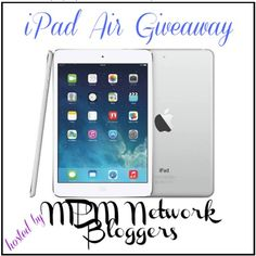 Enter now for a chance to win an Apple iPad Air!