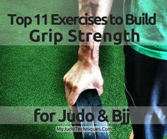 Grip strength is a huge part of Judo. Whether you are trying to pass someone's guard, obtain back control, or keep them from doing so to you, a deciding factor could very well be your ability to hold onto
