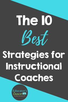 Coaching Strategies For Instructional Coaches Educators - During My Training As A Teacher I Learned Instructional Strategies To Teach Lessons And Deal With My Students In The Classroom When I Transitioned To Being A Coach I Soon Realized That Coaching Was Instructional Coaching, Instructional Technology, Instructional Strategies, Instructional Design, School Leadership, Educational Leadership, Co Teaching, Teaching Strategies, Teaching Ideas