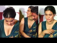 Kajol Devgan Most Gorgeous & STUNNlNGG Look at Tanhaji Movie Success Party with Her Hubby Ajay