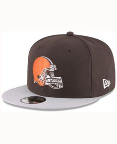 online retailer 18ce2 439fb New Era Cleveland Browns Heather Vize Mb 9FIFTY Cap