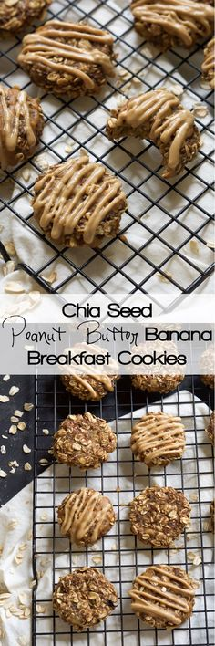 Peanut Butter Banana Breakfast Cookies are ready in 15 minutes, only take one…