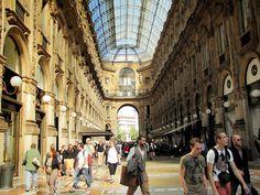 Galleria Vittorio Emanuele, Milan Italy