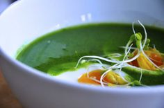 Grön soppa