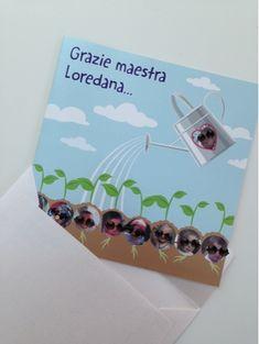 Marta Paper Design: Un grazie speciale alla maestra! Un po' in ritardo...