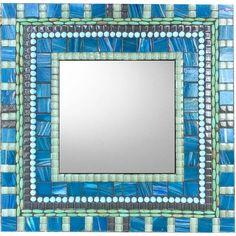 Creative Mirror Decorating Ideas   Tile mirror, Bathroom ...