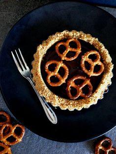 Chocolate Pretzel Tart - The Sticky and Sweet