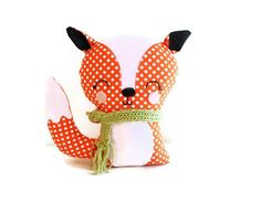 G and G Patterns on Etsy ~ pretty cheap patterns for very cute DIY stuffed animals, toys, and soft book ends