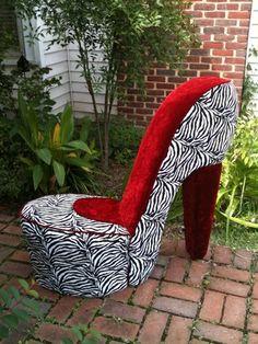 Greenchairboutique On Artfire.com. High Heel Shoe ...