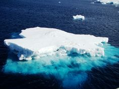The water is so clear in #Antarctica.   #Travel #Cruise