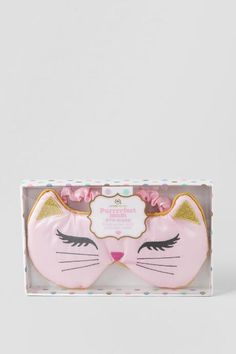 Kitty Cat Lavender Scented Eye Mask - gift-cl