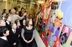 School corridor timeline - this would be wonderful!