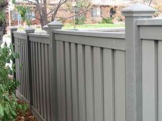 grey stained fences - Google Search