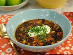 Smoky meets creamy in this one-pot black bean bisque.