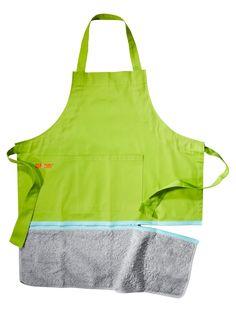 Zip & Dry apron, $30, uncommongoods.com