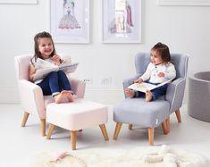 Avery Kids Linen Armchair Sofa by HipKids - Hip Kids Kids Sofa Chair, Kids Armchair, Kids Couch, Furniture Dolly, Sofa Furniture, Metal Furniture, Furniture Outlet, Cheap Furniture, Garden Furniture