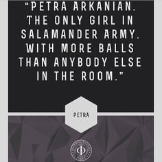 """Petra Arkanian from Ender's Game """"The emotion she dealt best with was anger."""""""