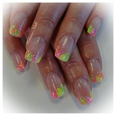 Young Nails acrylic neon Kelsmee Nails   Nail young nails