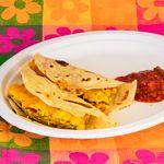 Busy Day Breakfast Burrito (healthy)