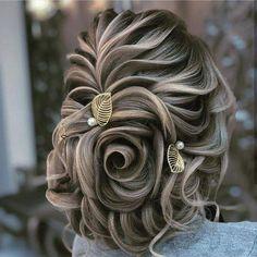 Evening Hairstyles, Up Hairstyles, Braided Hairstyles, Wedding Hairstyles, Peinado Updo, Competition Hair, Cabello Hair, Bridal Hair Buns, Wedding Hair Inspiration
