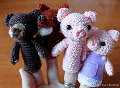 How to Crochet a Garden Fairy Finger Puppet | eHow.com