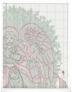 Melody of Christmas Cross Stitch Angels, Cross Stitch Charts, Engle, Stitch 2, Blackwork, Fairies, Musicians, Needlework, Gothic