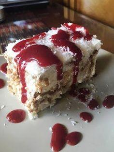 Greek Sweets, Greek Desserts, Party Desserts, Greek Recipes, Cookbook Recipes, Sweets Recipes, Candy Recipes, Cooking Recipes, Greek Cake