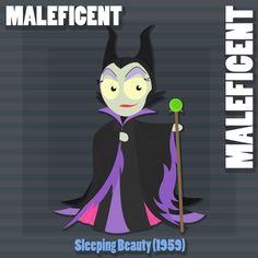Maleficent (Drawing by BlakeM15192 @deviantART) #SleepingBeauty