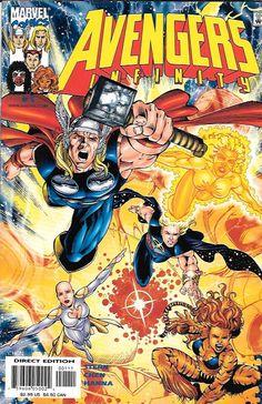 Avengers Infinity # 1 Marvel Comics