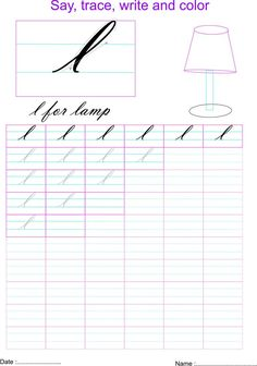 7 best letter l worksheets images letters kindergarten preschool printables. Black Bedroom Furniture Sets. Home Design Ideas