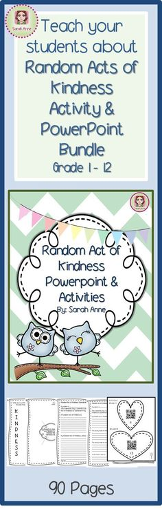 Spread love and kindness across your whole school community. Challenge your students (and staff) to commit to at least one Random Act of Kindness. Use this activity and powerpoint bundle to inspire, challenge and show them how they can make a difference i Elementary Counseling, School Counselor, Elementary Schools, Kindness Activities, Counseling Activities, School Community, Classroom Community, Kindness Challenge, Classroom Management